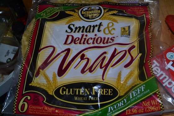 This is the gluten free wrap that I use, its not organic, but its quite soft and it holds it doesn't break when you bend it like some other brand's I've tried.